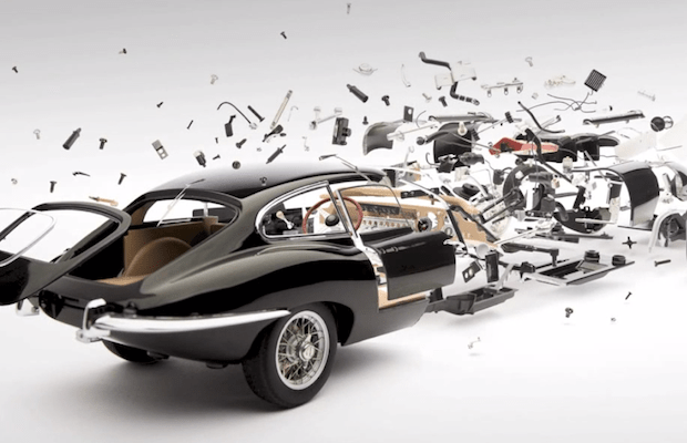 Art of the week: Disintegrating Cars by Fabian Oefner
